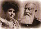 King Leopold II and his mistress